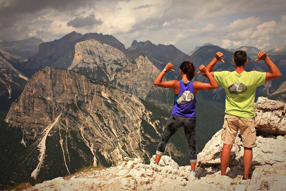 La Team Bloc N Roc aux Dolomites