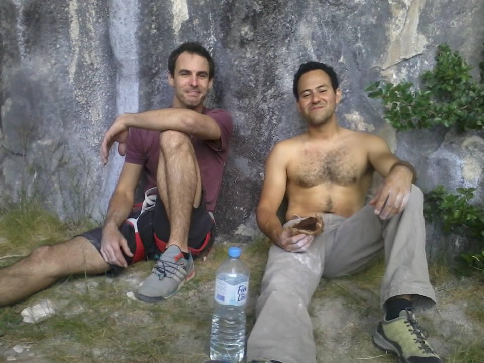 La Team Bloc N Roc à Saint-Léger du Ventoux